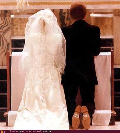 good idea,help,shoes,wedding