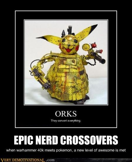 EPIC NERD CROSSOVERS