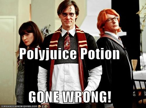 Polyjuice Potion GONE WRONG!