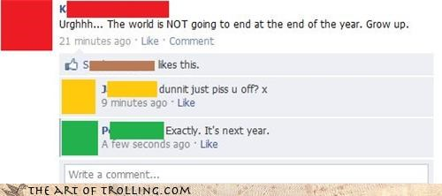 Calm Down, It's Not the End of the World