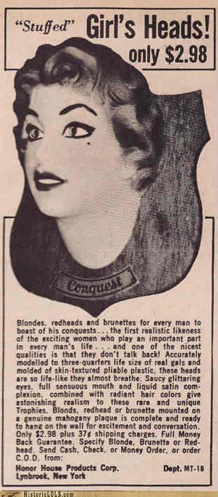 Dear 1950's Men: W...T...F...