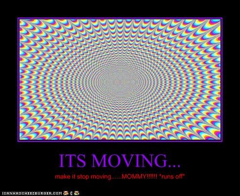 ITS MOVING...