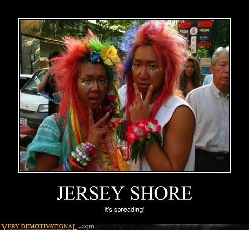 asians,jersey shore,orange skin,tanning