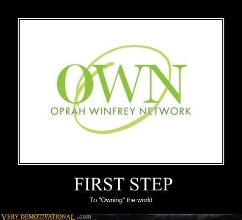 oprah,own,world domination