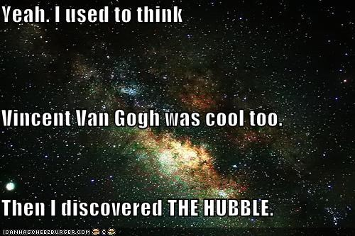 Whatever, the Hubble is Mainstream