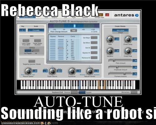 Rebecca Black  Sounding like a robot since 2011