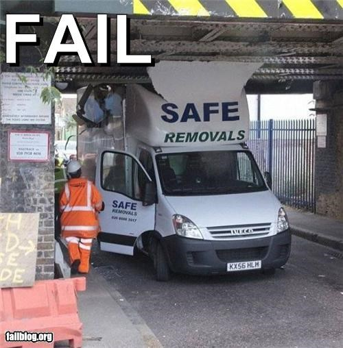 Safe Removal Fail