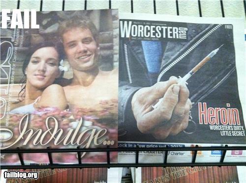 drugs,failboat,grocery store,indulgences,juxtaposition,magazines,poor planning