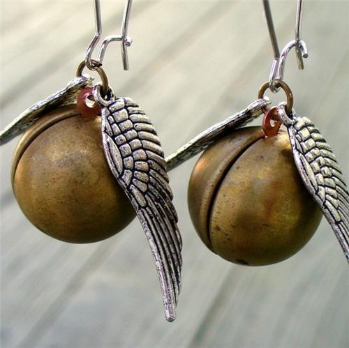 earrings,Harry Potter,Harry Potter merch,merch,quidditch