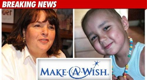 Follow Up of the Day: Ina Garten Agrees To Grant Enzo's Wish