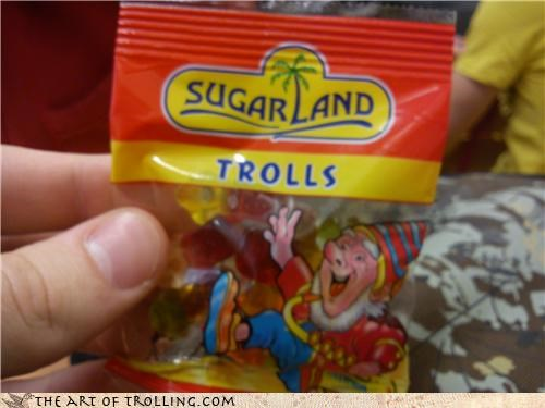 Trolls in a Sac