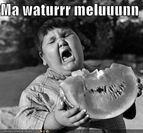 Saterrrday Special: Waturr Melunn