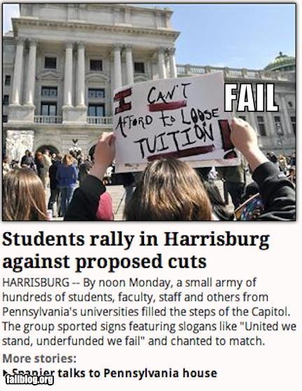 Protest Fail