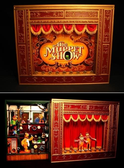 Hand-Crafted Muppets Playset of the Day