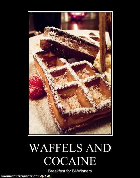 WAFFELS AND COCAINE