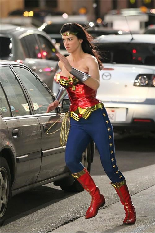 Action Shot Of The Day: Wonder Woman