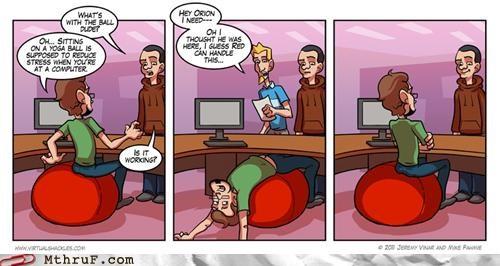 comic,desk,ergonomic,funny,Yoga Ball