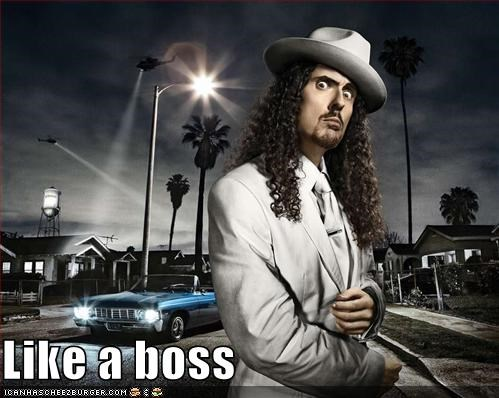 Weird Al: LIKE A BOSS