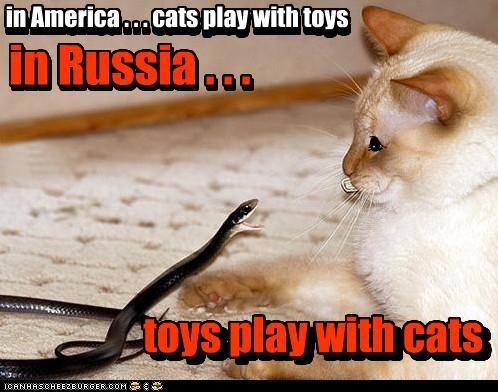 in Russia...