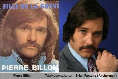 Pierre Billon Totally Looks Like Brian Fantana (Anchorman)