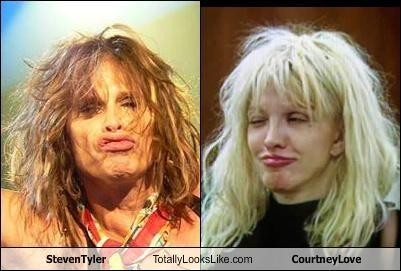 Steven Tyler Totally Looks Like Courtney Love