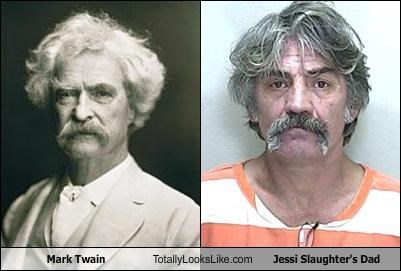 Mark Twain Totally Looks Like Jessi Slaughter's Dad