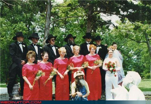 funny wedding photos,redneck,wedding party