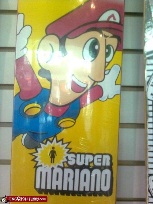 engrish,FAIL,mario,nintendo,Super Mario bros