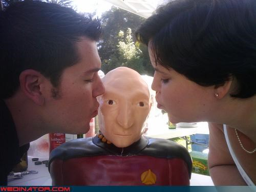 cake,funny wedding photos,geek,Star Trek