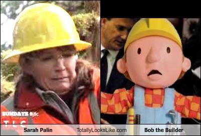 Sarah Palin Totally Looks Like Bob the Builder