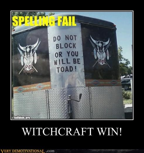 WITCHCRAFT WIN!