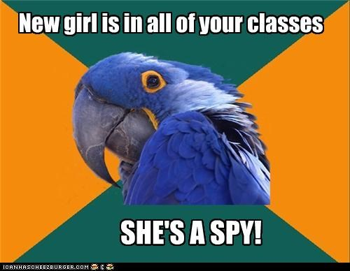 Paranoid Parrot: Mission Kimpossible