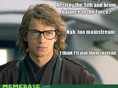 anakin,hipster-disney-friends,i hate that guy,star wars