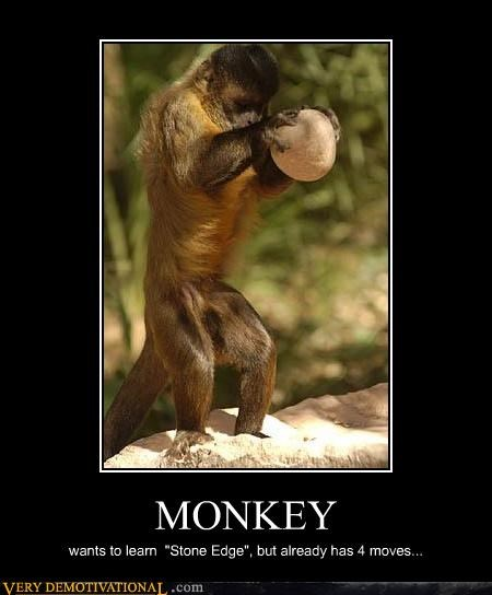 monkey,moves,stone,video games