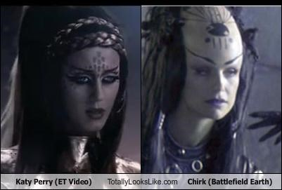 Katy Perry (ET Video) Totally Looks Like Chirk (Battlefield Earth)