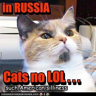 in RUSSIA....