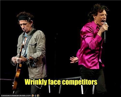 Wrinkly face competitors