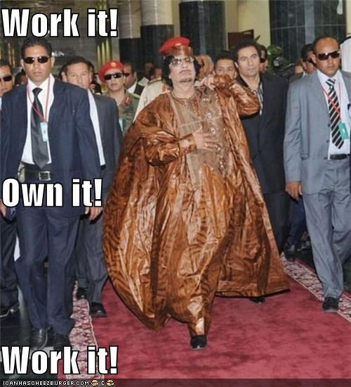 Work it! Own it! Work it!