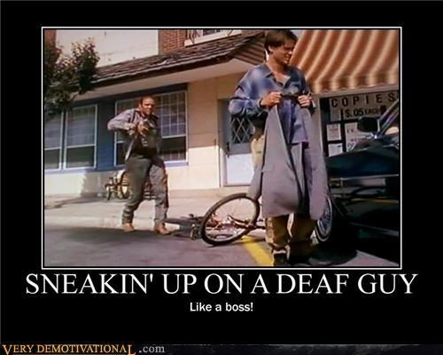 boss,deaf guy,hilarious,Movie