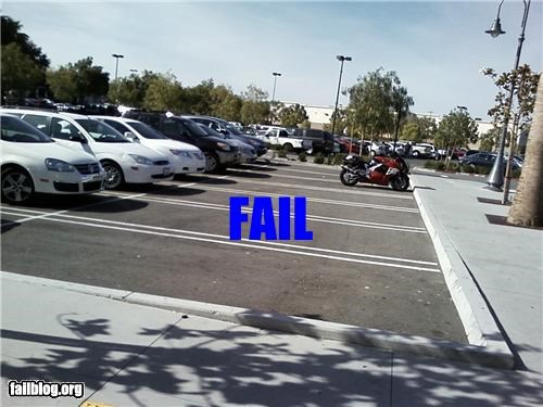 Parking Spaces Fail