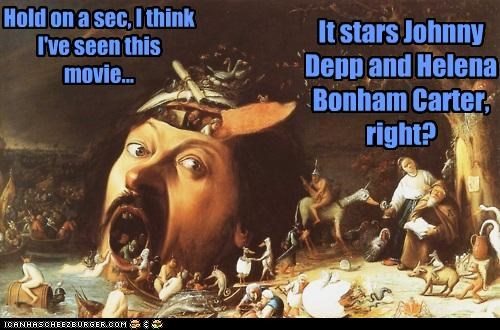 "Tim Burton's ""The Temptation of St Anthony"""