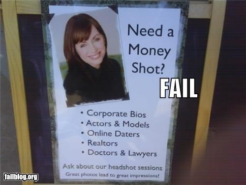 Ad,failboat,innuendo,money shot,photographer,phrase,sign