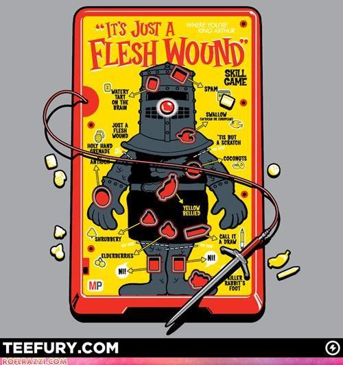 funny,Hall of Fame,monty python,shirt,the black knight