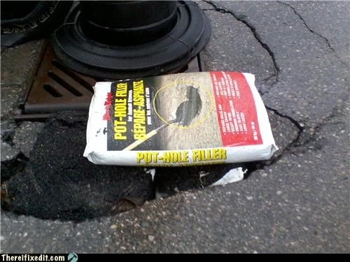 Pothole Repair: Close Enough