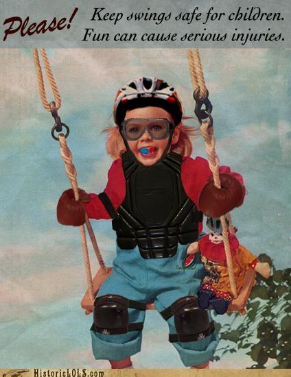 Keep Swings Safe!