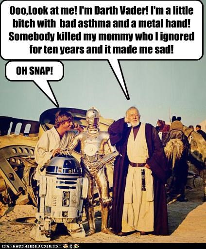 Obi-Wan Talkin' MAD Trash, Yo!