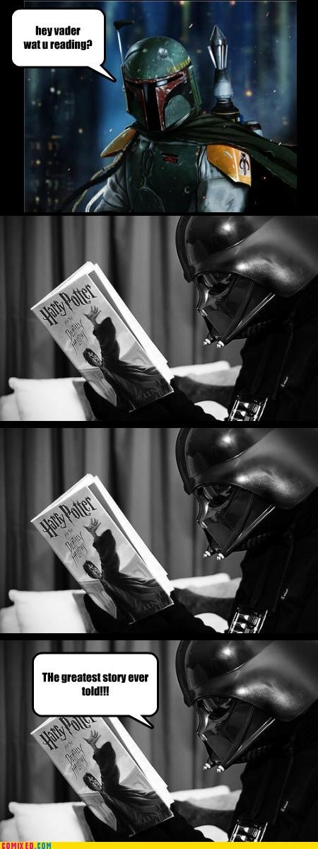 Vader LOVES the Potter