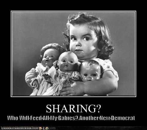 Who Will Feed All My Babies? Another New Democrat