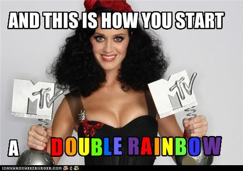 KATY PERRY IS PROACTIV ABOUT RAINBOWS