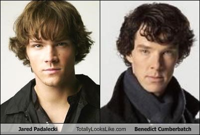 Jared Padalecki Totally Looks Like Benedict Cumberbatch